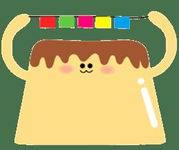 Fluffy little pudding sticker #3402755