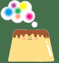 Fluffy little pudding sticker #3402762