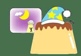 Fluffy little pudding sticker #3402768