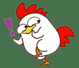 Koshiro : Funny Chicken sticker #3403709