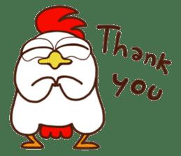 Koshiro : Funny Chicken sticker #3403713