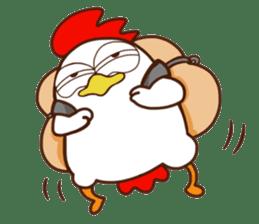 Koshiro : Funny Chicken sticker #3403720