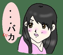 80'comics Girl sticker #3403859