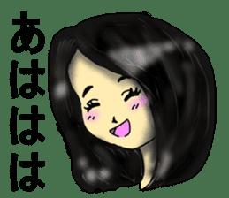 80'comics Girl sticker #3403888