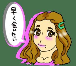 80'comics Girl sticker #3403889
