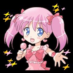 """Idol """"MOE"""" sticker"""