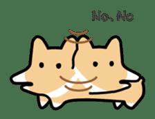 Koimo of the world of Corgi sticker #3414473