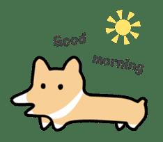 Koimo of the world of Corgi sticker #3414488