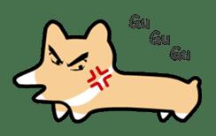 Koimo of the world of Corgi sticker #3414495