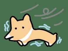 Koimo of the world of Corgi sticker #3414504