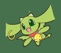 a petit dragon sticker #3420306