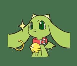 a petit dragon sticker #3420309