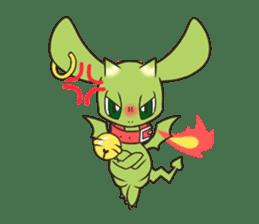 a petit dragon sticker #3420314