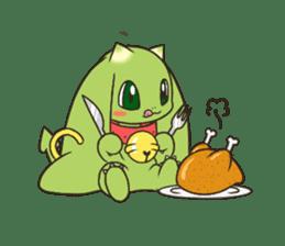 a petit dragon sticker #3420317