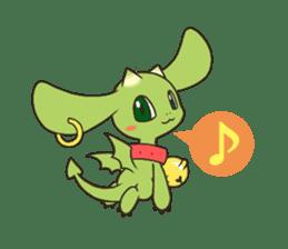 a petit dragon sticker #3420318