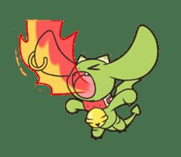 a petit dragon sticker #3420319
