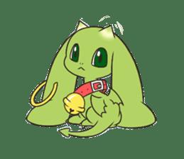 a petit dragon sticker #3420323