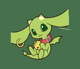 a petit dragon sticker #3420326