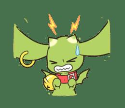 a petit dragon sticker #3420328