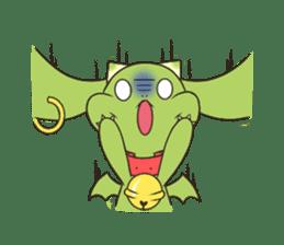 a petit dragon sticker #3420330