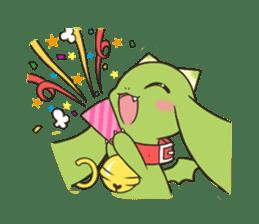 a petit dragon sticker #3420341