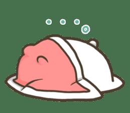 Slacker bunny sticker #3421668