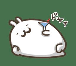 Slacker bunny sticker #3421673