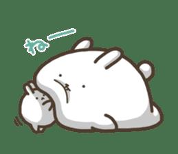 Slacker bunny sticker #3421674