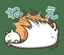 Slacker bunny sticker #3421676