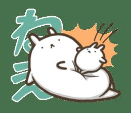 Slacker bunny sticker #3421677