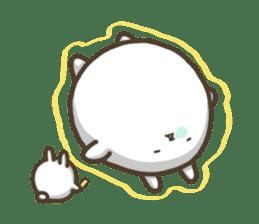 Slacker bunny sticker #3421678