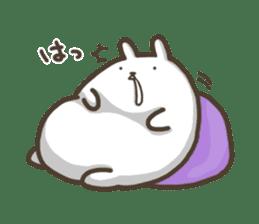 Slacker bunny sticker #3421683