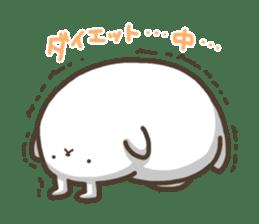 Slacker bunny sticker #3421684