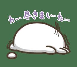 Slacker bunny sticker #3421685
