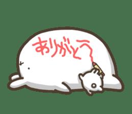 Slacker bunny sticker #3421686