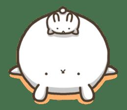 Slacker bunny sticker #3421687