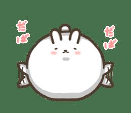 Slacker bunny sticker #3421693