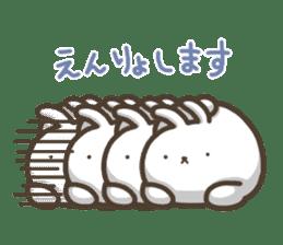 Slacker bunny sticker #3421696