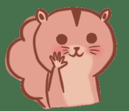 Sticker of a very cute squirrel sticker #3425920