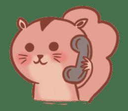 Sticker of a very cute squirrel sticker #3425933