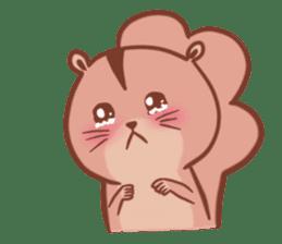 Sticker of a very cute squirrel sticker #3425935