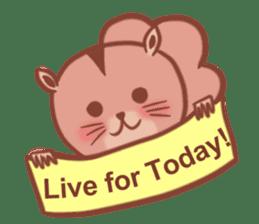Sticker of a very cute squirrel sticker #3425942