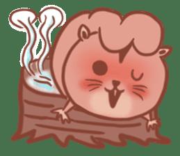 Sticker of a very cute squirrel sticker #3425945