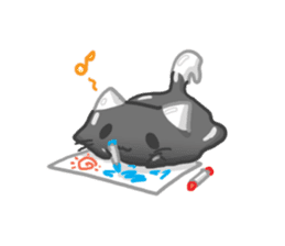 Slime Kitten Part 2 sticker #3426872