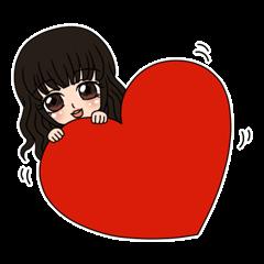 "StampGirl ""Hearts"""