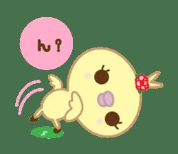 Peachan's interjectional conversation sticker #3439682