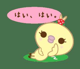 Peachan's interjectional conversation sticker #3439683