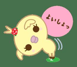 Peachan's interjectional conversation sticker #3439684