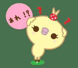 Peachan's interjectional conversation sticker #3439685