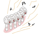 [Crazy Mushroom] sticker #3440680